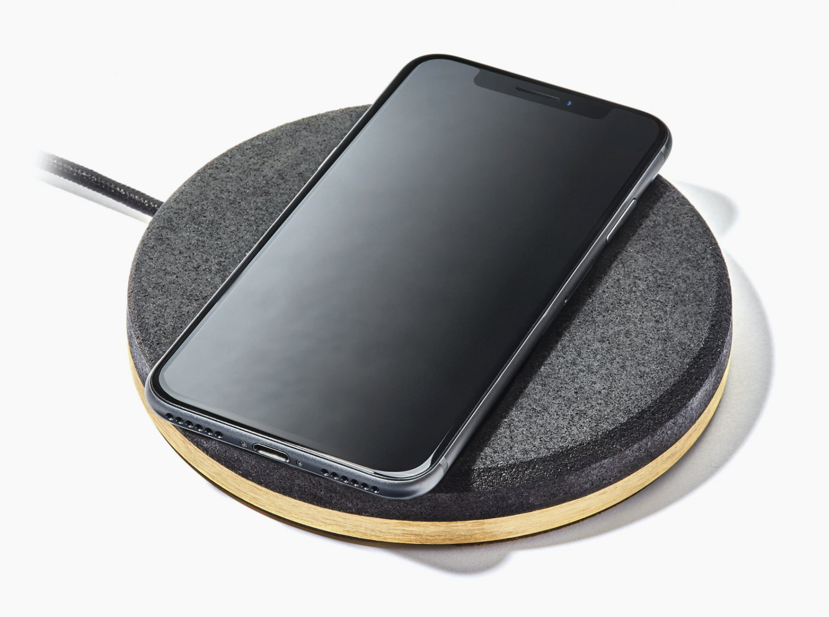 Brass Wireless Charging Pad